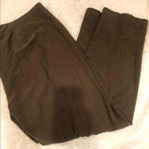 Eileen Fisher green pants